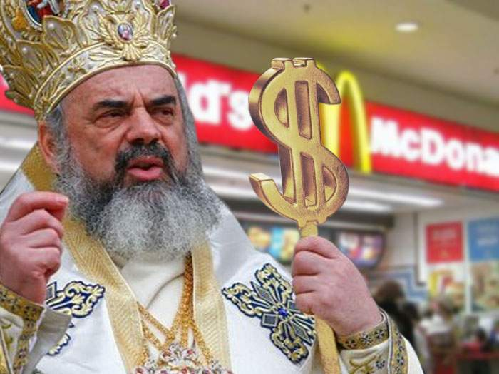 S-a zis cu postul! În urma unui acord avantajos cu McDonald's, Patriarhul a dat dezlegare la burgeri