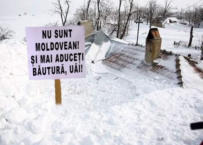Între ciocan și nicovală! Buzoienii trebuie să recunoască că sunt moldoveni ca să fie deszăpeziți