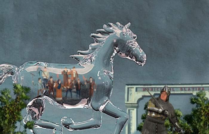 Dosar Historia! Caracalul a încercat să răpună cetatea Slatinei folosind un cal troian transparent