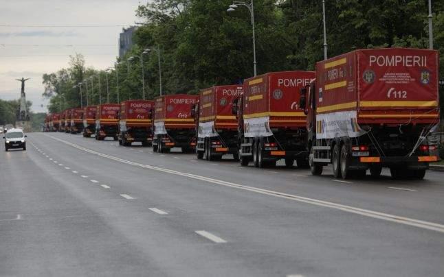 Camioanele cu ajutoare trimise în R. Moldova s-au întors pline cu țigări și coniac