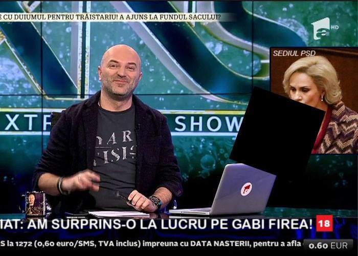 Antena 3 a surprins-o pe Gabi Firea la lucru și la sediul PSD, dar imaginile nu pot fi date decât la Capatos