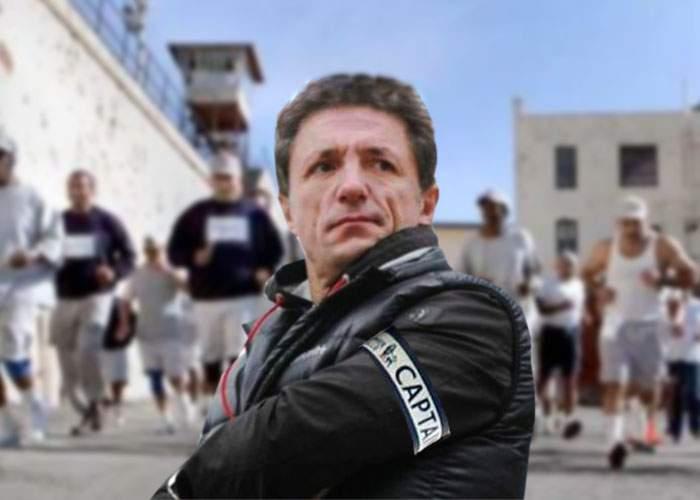 Gică Popescu a cerut banderola de căpitan pentru a conduce alergarea din curtea închisorii