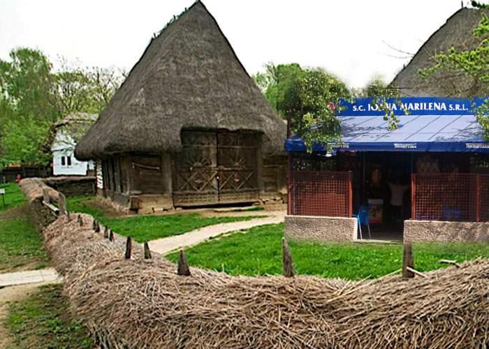 """Exponatul """"Bodegă tradiţională din zona autogării Militari"""", inaugurat ieri la Muzeul Satului"""