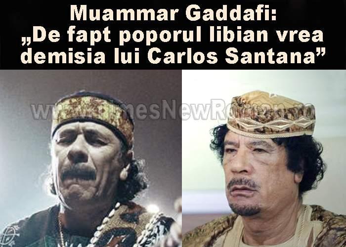 În Libia, manifestările violente împotriva lui Carlos Santana iau amploare