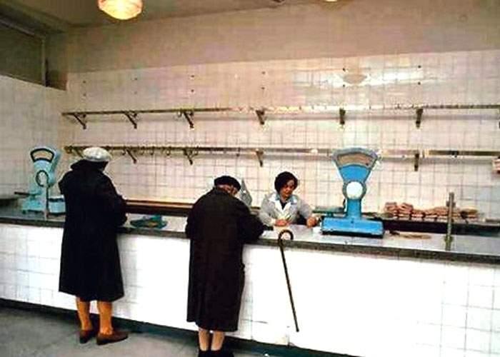 Cazul magazinului care vindea carne din anii '80, un fals grosolan! În anii '80 nu exista carne