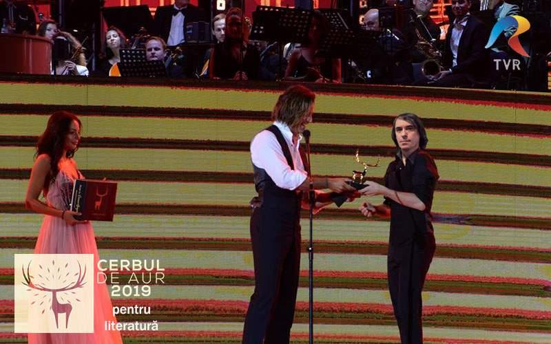 Ca o consolare că n-a luat Nobelul, Cărtărescu va primi Cerbul de Aur pentru Literatură