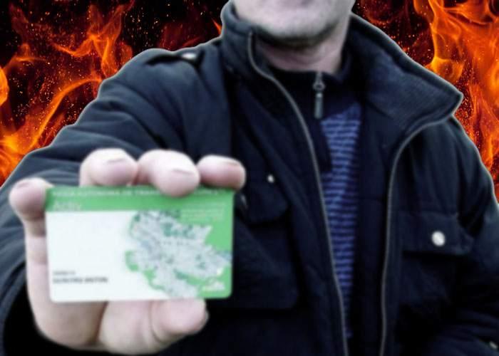 Bucureştean acuzat de vrăjitorie! A fost văzut scăpând de amenzi în RATB cu un fel de cartelă