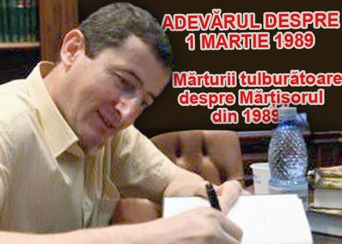"""Grigore Cartianu lansează încă o carte-document: """"Adevărul despre 1 Martie 1989"""""""
