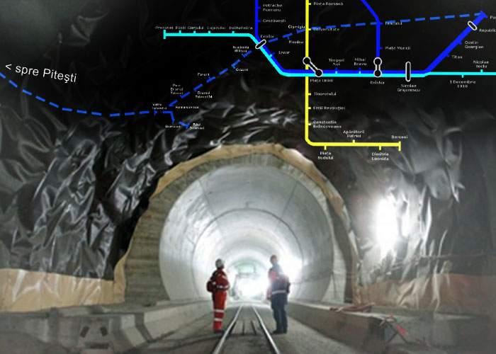 Vom avea metrou până la Piteşti! Cârtiţele de pe magistrala Drumul Taberei nu mai pot fi oprite