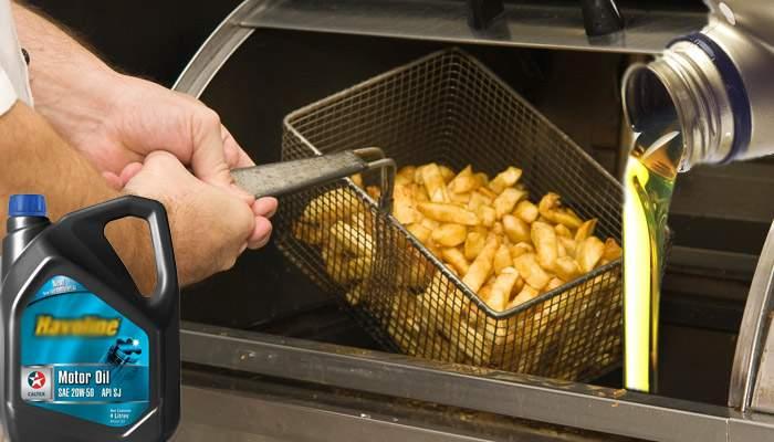 Țin la sănătate! Cartofii prăjiți de la Mcdonald's, prăjiți în ulei de motor de calitate superioară