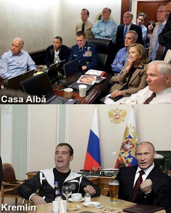 Poza zilei! Reacțiile de la Casa Albă și de la Kremlin la aflarea veștii că avionul a fost doborât