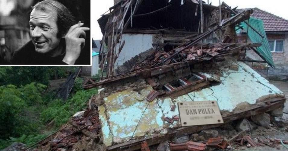 Ne batem joc de valorile neamului! Casa Memorială Dan Pulea zace în ruină