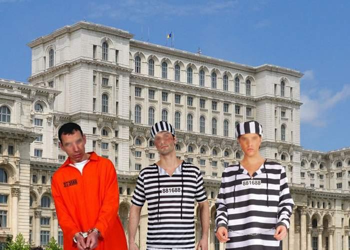 Codul Penal stârneşte discuţii: Dacă mai eliberăm mulţi puşcăriaşi, Casa Poporului va trebui extinsă