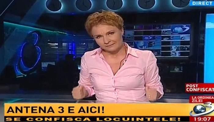 Surpriză pentru românii care şi-au dat casele pentru Antena 3: Se confiscă şi alea!