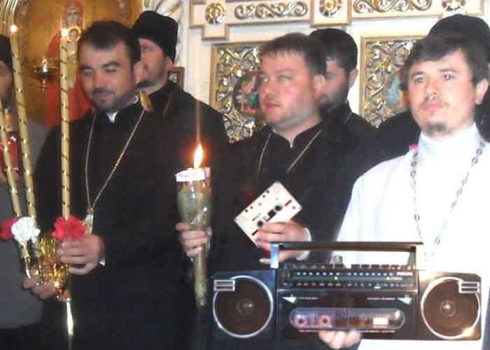 Sfânta casetă cu muzică de sărbători a fost adusă de la Ierusalim
