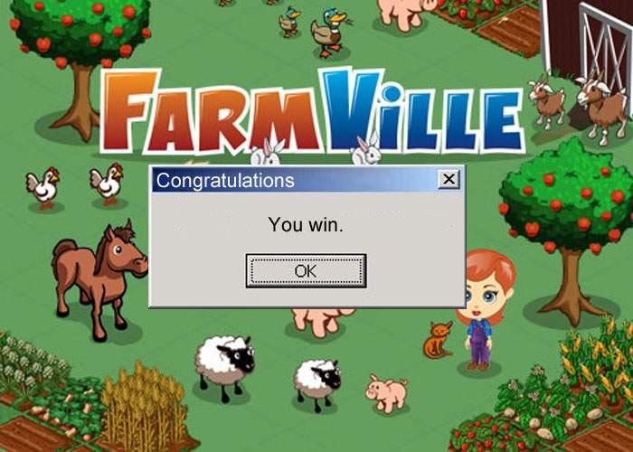 După ce a jucat 5 ani încontinuu, un român a reușit să câștige la Farmville