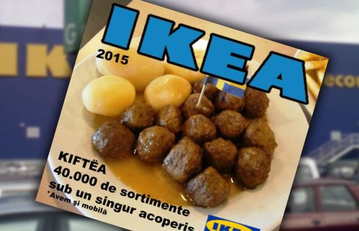 A apărut noul catalog Ikea! Vezi preţurile la chiftele şi meniul pe 2015!