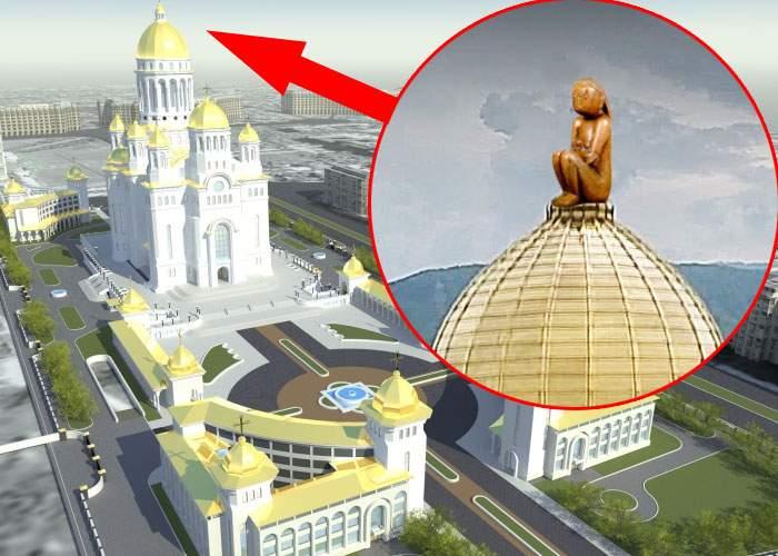 Surse: Dacă se strâng destui bani, Cuminţenia Pământului va fi pusă în vârful Catedralei Neamului