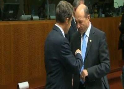 Video exclusiv: Băsescu a vorbit cu Sarkozy despre whisky şi stilouri