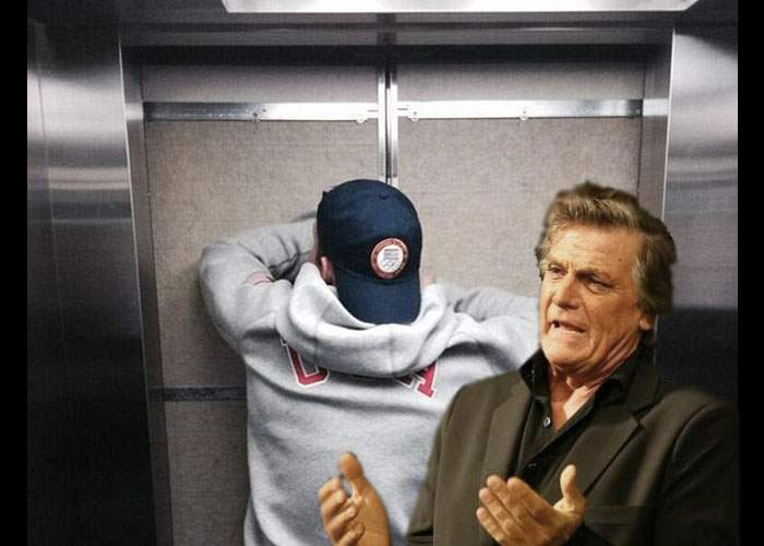 Chiar a fost cea mai lungă zi din an! Un tânăr a rămas azi blocat în lift cu Florin Piersic