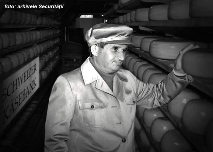 Conturile lui Ceauşescu, descoperite! Avea 10 tone de caşcaval într-o bancă elveţiană