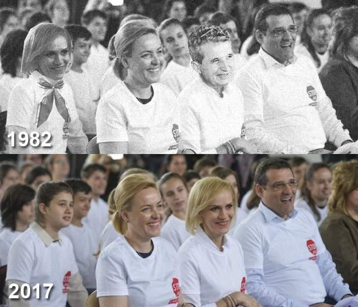 Gabi Firea, acuzată de plagiat! A copiat o vizită într-o școală bucureșteană a lui Ceaușescu din 1982