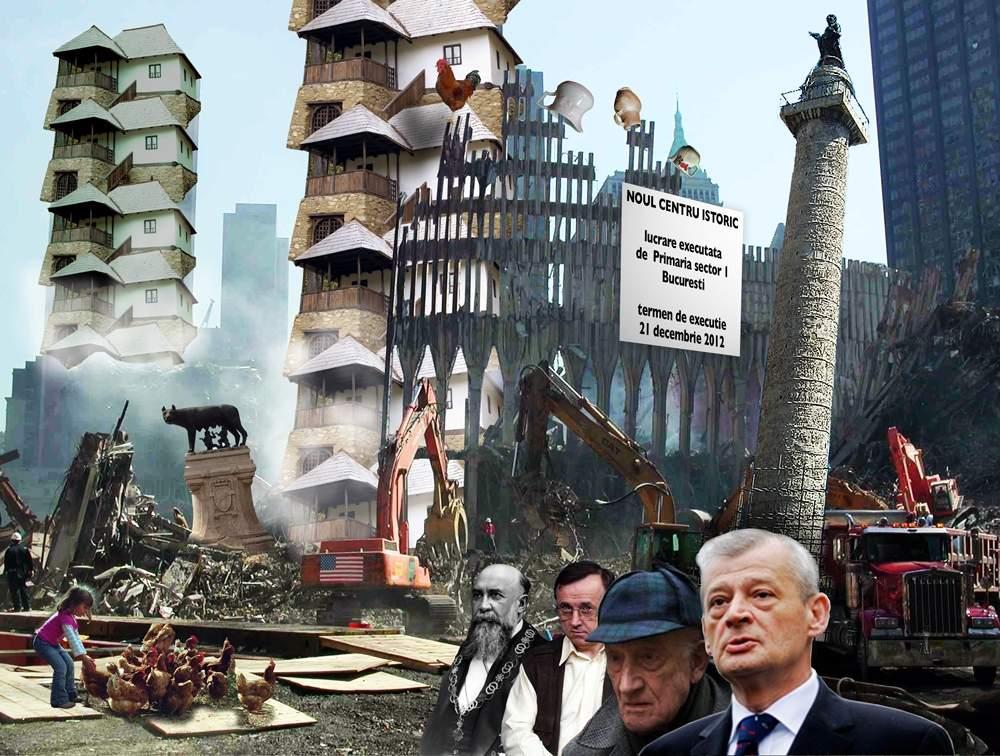 Un nou centru istoric, la marginea Bucureştiului