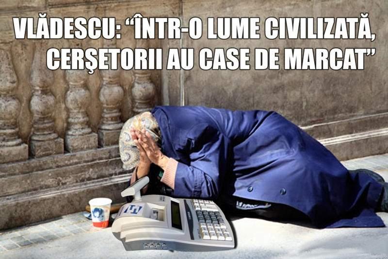 """Vlădescu: """"În toate ţările civilizate, cerşetorii contribuie la buget"""""""