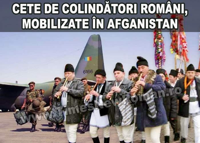 România trimite cete de colindători în Irak şi Afganistan