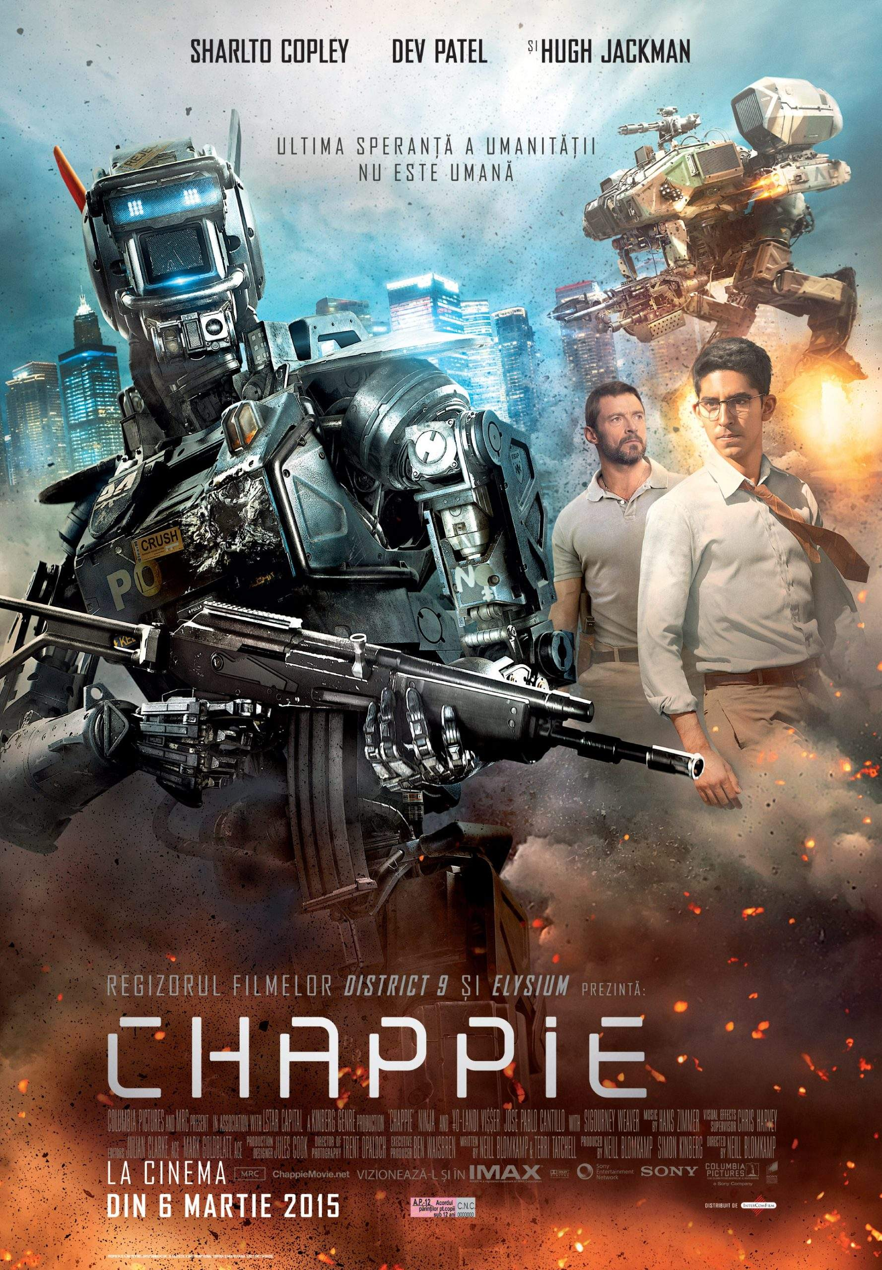 Chappie – Cu RAM-u' mititel, dar mare la suflețel
