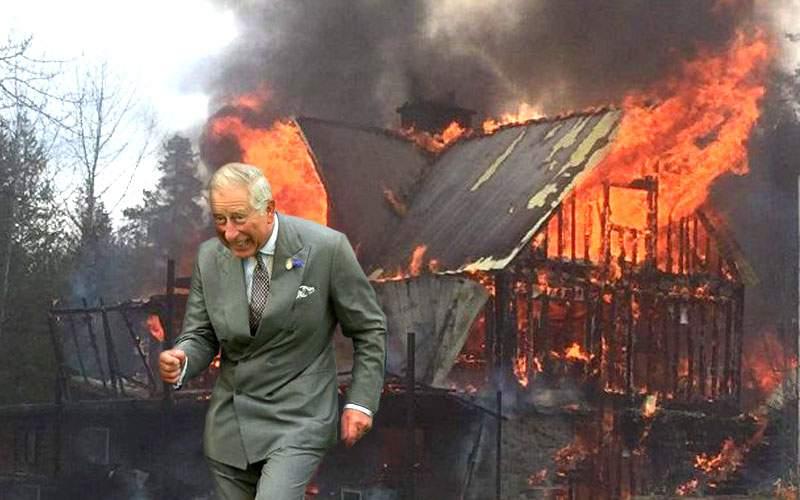 Prinţul Charles, pregătit de un Brexit dur: taie găinile şi dă foc la casa din Viscri