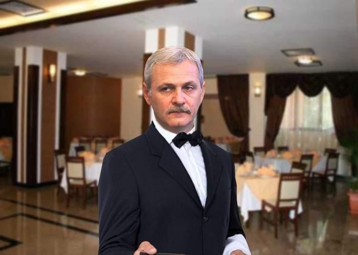 O nouă umilinţă! Dragnea, confundat cu un chelner la nunta fiului său