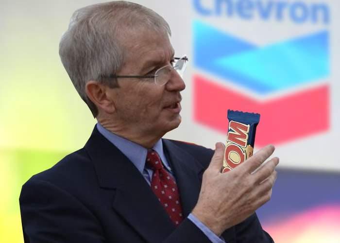 """Chevron explică de ce vrea să foreze la Pungeşti: """"Lasă că şi voi vreţi să ne furaţi biscuiţii"""""""