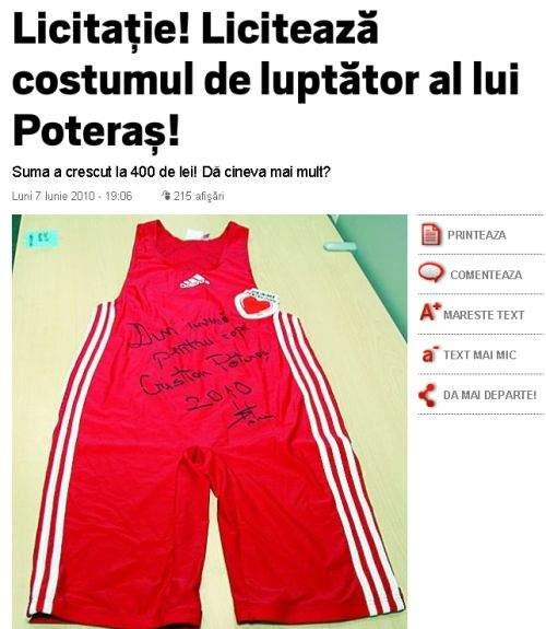Click! scoate la vânzare chiloţii lui Cristian Poteraş, primarul de la Sectorul 6
