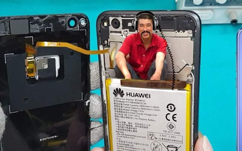 Un bărbat a găsit sub carcasa noului Huawei un chinez care-l spiona