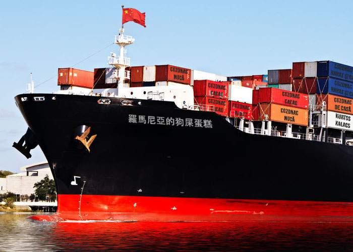 Mai e puţin! Vaporul cu cozonaci tradiţionali româneşti a plecat din China spre ţara noastră