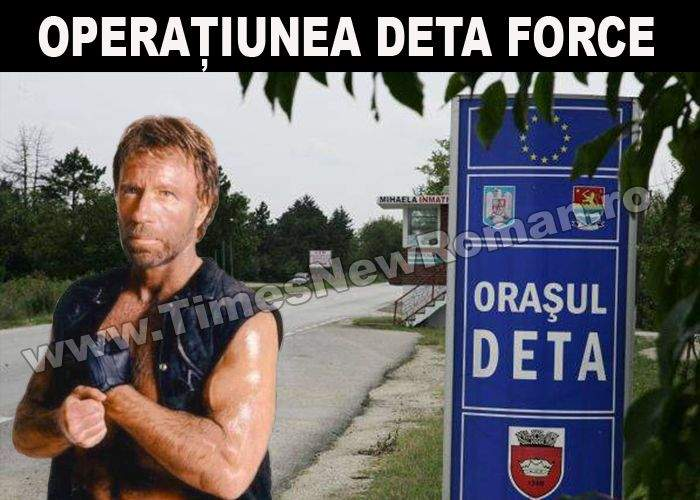 Operaţiunea Deta Force: Chuck Norris vine în România