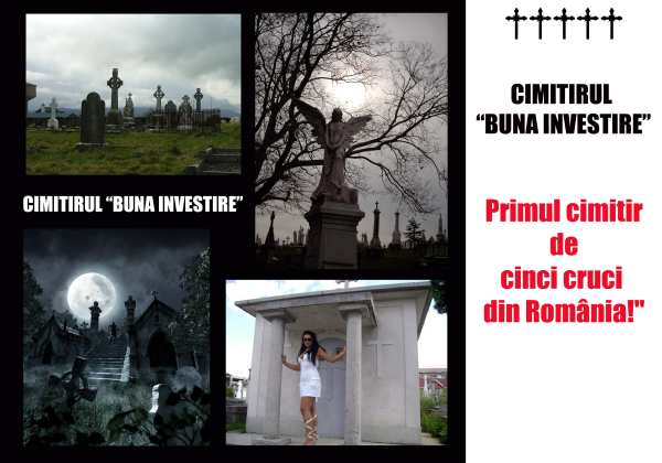 Primul cimitir de cinci cruci din România