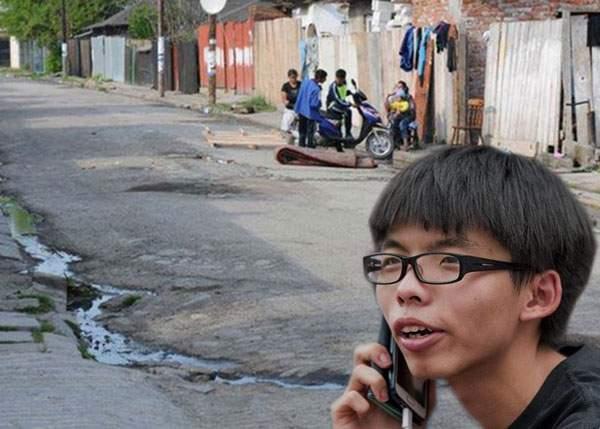 Staţia spaţială chinezească s-a prăbuşit în Colentina? Tot cartierul e plin de chinezi şi de cratere