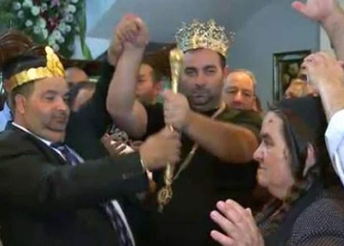 De Sf. Arhangheli Mihail şi Gavril, regele Cioabă i-a felicitat pe romii pe care îi cheamă Arhanghel
