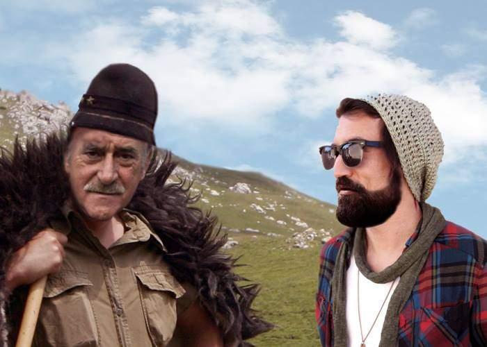 Miracole de sărbători! Un hipster a învățat cum să fie bărbat de la un țăran!