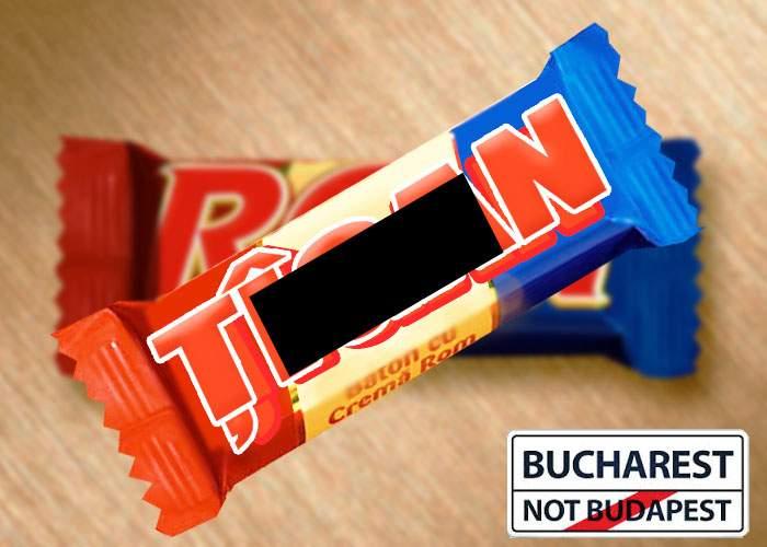 """După """"Bucharest, not Budapest"""", ciocolata Rom pune capăt altei confuzii! Se va numi ciocolata Ţigan"""