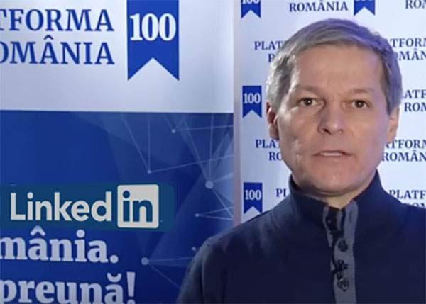 Start-up Story. Platforma Ro100 a lui Cioloş, achiziţionată de Linkedin cu 2 miliarde de dolari