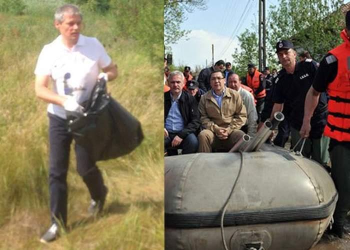 """Ponta râde de Cioloș: """"N-a avut jandarmi care să-i țină sacul sau să strângă gunoaiele în locul lui"""""""