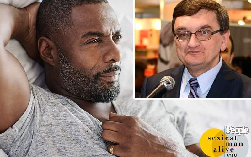 Umilință pentru Victor Ciorbea în SUA! Idris Elba a i-a suflat titlul de cel mai sexy bărbat în viață