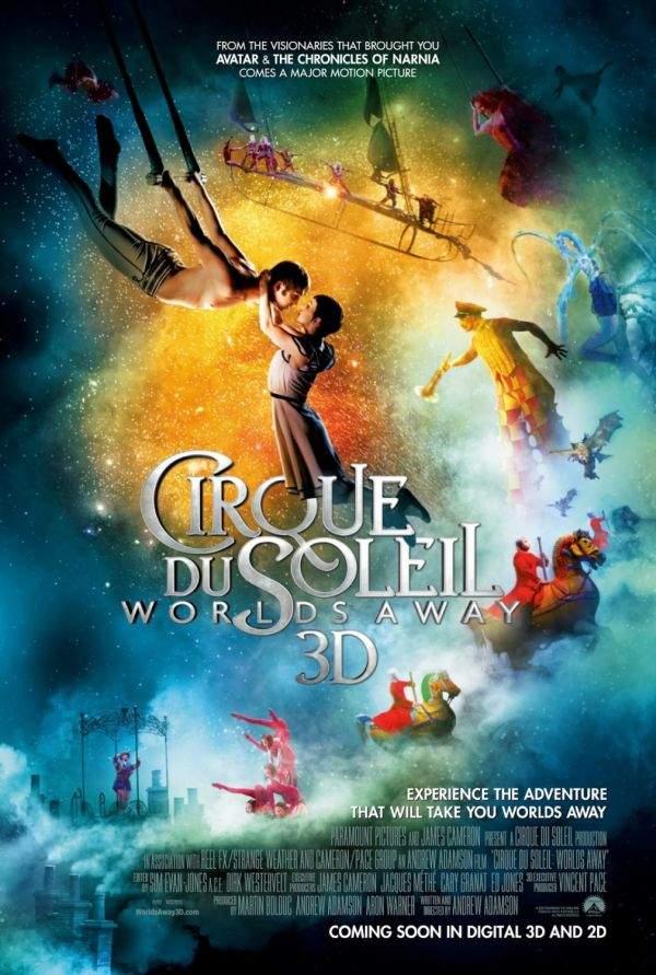 Cirque du Soleil – Worlds Away 3D – Dresură de idei răzleţe