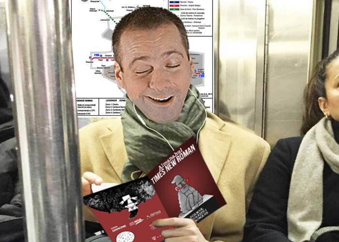 Inedit! Un bărbat cufundat în lectură a uitat că e în metrou, nu pe toaletă, și s-a căcat pe el