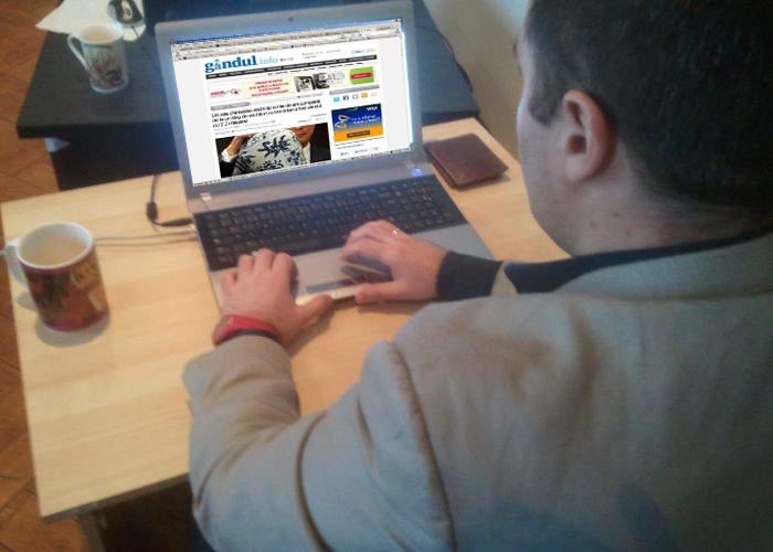 Redactor gandul.info, concediat după ce a divulgat prea multe informaţii în titlul unui articol