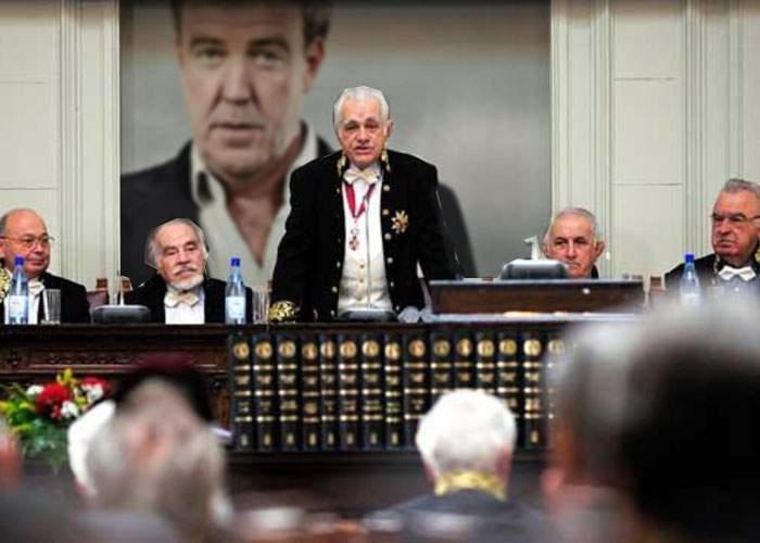 """După lungi dezbateri, Academia Română îi răspunde oficial lui Jeremy Clarkson: """"Ba tu eşti prost"""""""
