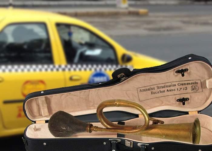 Un taximetrist claxona aşa frumos că a primit un claxon Stradivarius